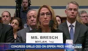 Mylan's EpiPen Price Gouging